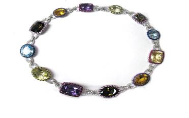Color Stone Necklaces