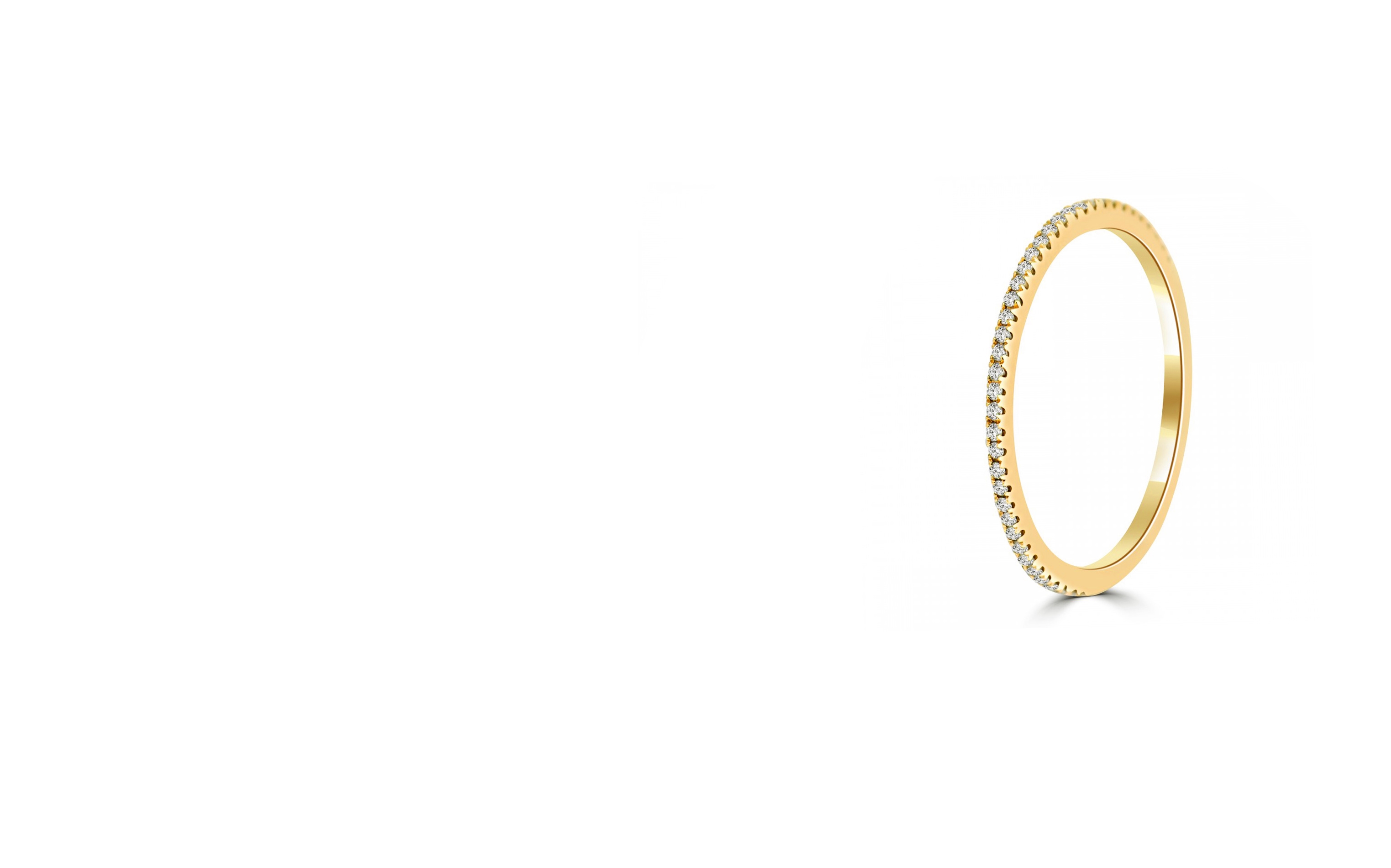 Thin Eternity Bands