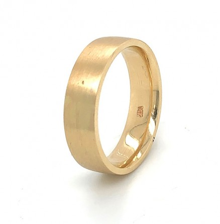 14kt Yellow Gold Wedding Band