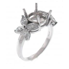 Platinum Diamond Semi Mount