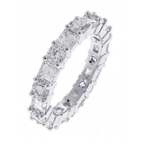 18kt White Gold Diamond Eternity Band
