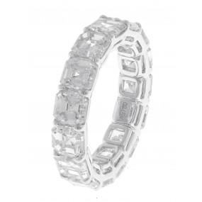 18kt White Gold Diamond Eternity Band