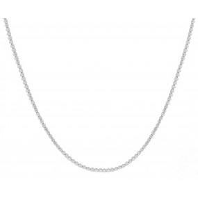 18kt White Gold Diamond Tennis Necklace