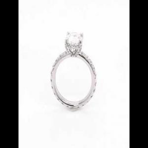 18kt White Gold GIA Certified Diamond Ring